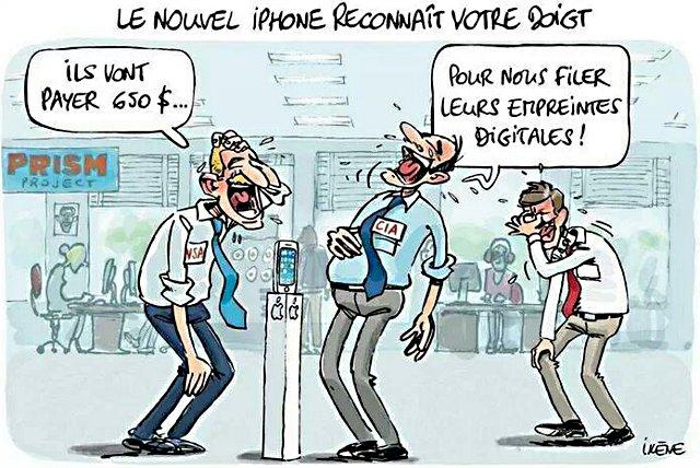 iPhonedoigt